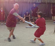 gladiator school stag activity image