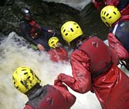 gorge walking action for your stag weekend