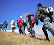 hill walking and action for your stag weekend