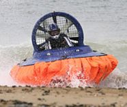 hovercrafting action for your group stag weekend