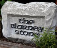 kiss the blarney stone on your stag weekend party