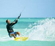 kite surfing for your group stag weekend