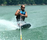 kneeboarding racing for your stag party