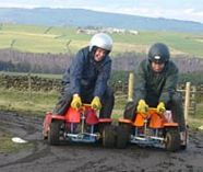 micro quads racing action for your stag party