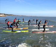 paddleboarding for your stag weekend