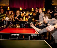 ping pong on your stag group party