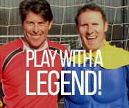 play with a legend for your stag party