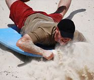 sandboarding for your stag weekend