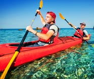 sea kayak on your stag weekend