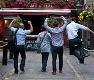 sms pub crawl for your group stag party
