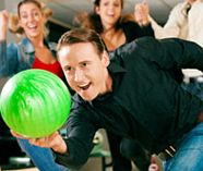 ten pin bowling for your stag party