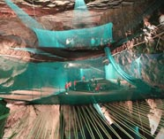 Trampoline cave