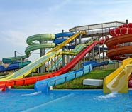waterpark action on your stag weekend party