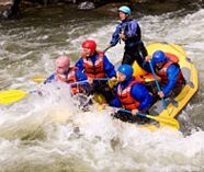 whitewaterrafting for your stag weekend party