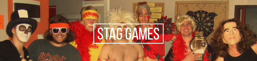 Stag party games