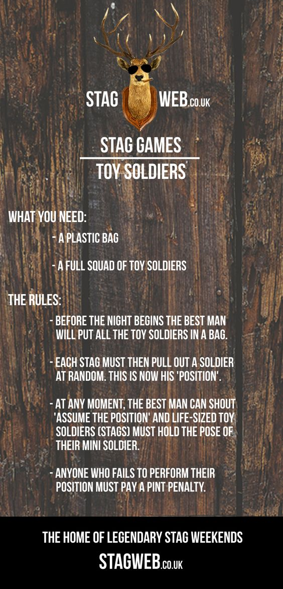 Toy Soldiers Drinking Game