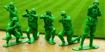 Toy soldiers stag do game