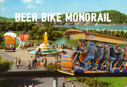 Beer Bike Monorail