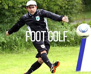 Foot golf stag activity