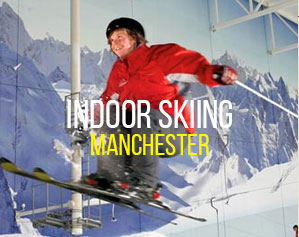Indoor skiing in Manchester image
