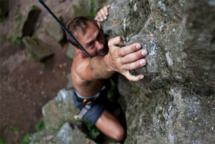 Outdoor climbing activity image