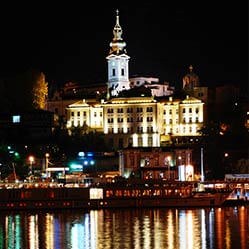City image of Belgrade