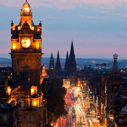 City image of Edinburgh