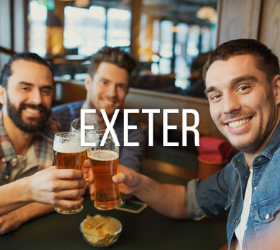 Exeter stag do city image