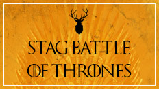 Stag battle of thrones image