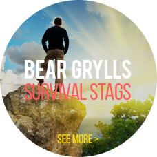 Bear Grylls survival stags package