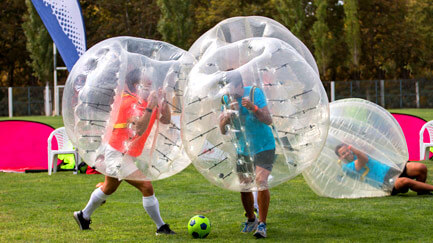 Bubble Football Packages