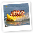 banana boat stag activity