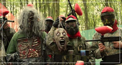 Zombie Paintball