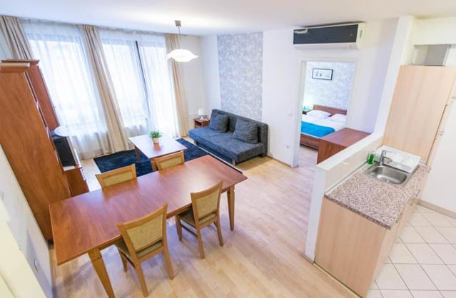 self catering in Budapest