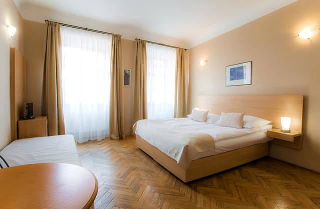 self catering in Prague