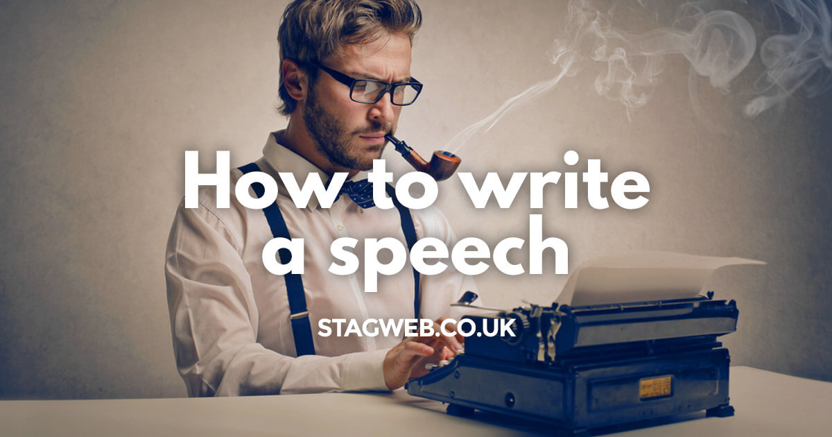 How to Write a Groom Speech | StagWeb