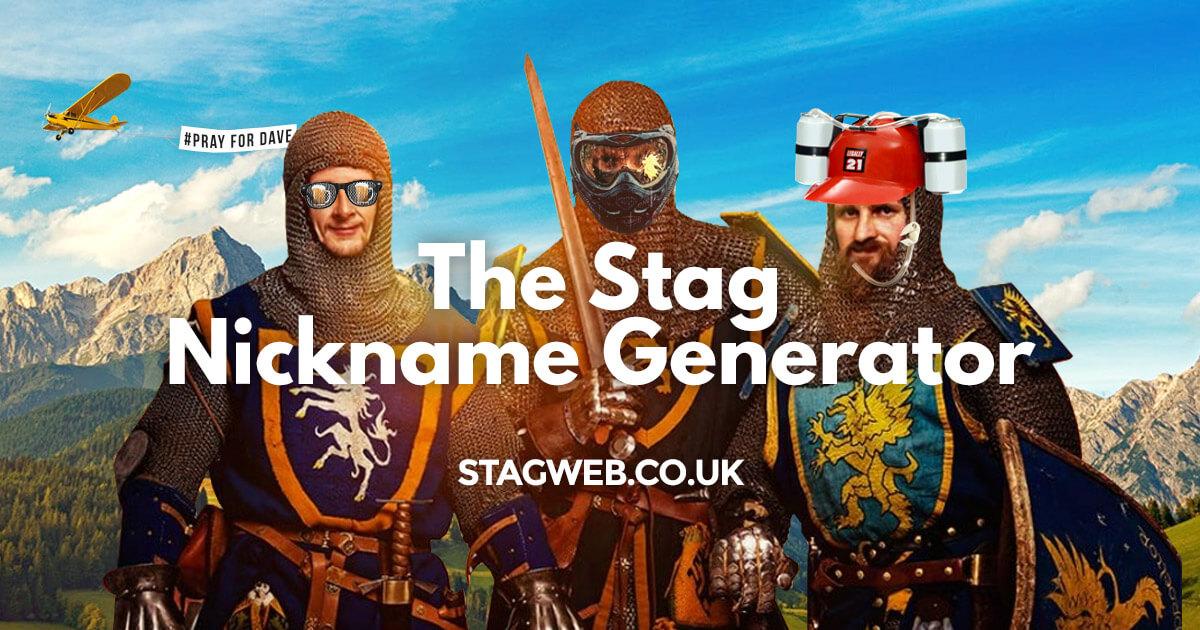 The Stag Nickname Generator | StagWeb