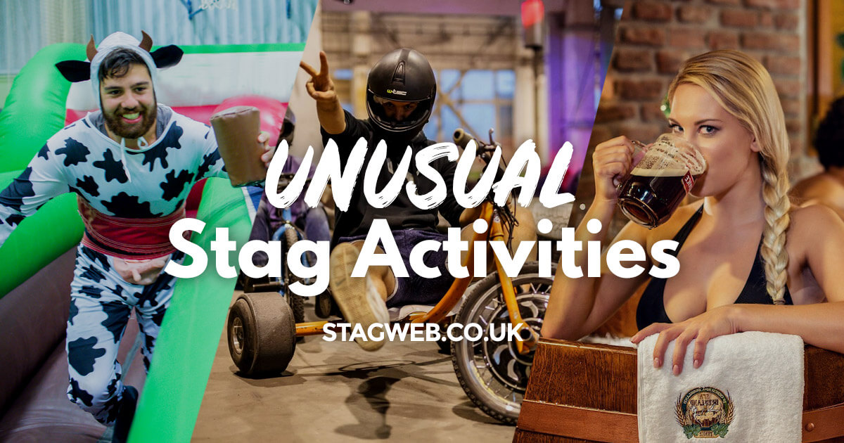 Unusual Stag Party Ideas Weird And Wacky Stag Do Ideas