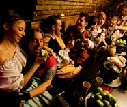 medieval banquet stag night ideas