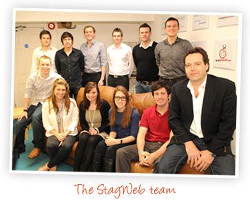 StagWeb team photo