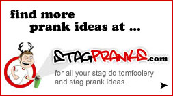 stag prank ideas and costume ideas
